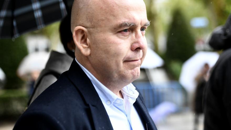 El abogado Gonzalo Boye tras declarar ante la jueza de la Audiencia Nacional, María Tardón.