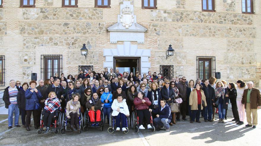 Foto de los participantes en el Pleno Especial sobre Personas con Discapacidad
