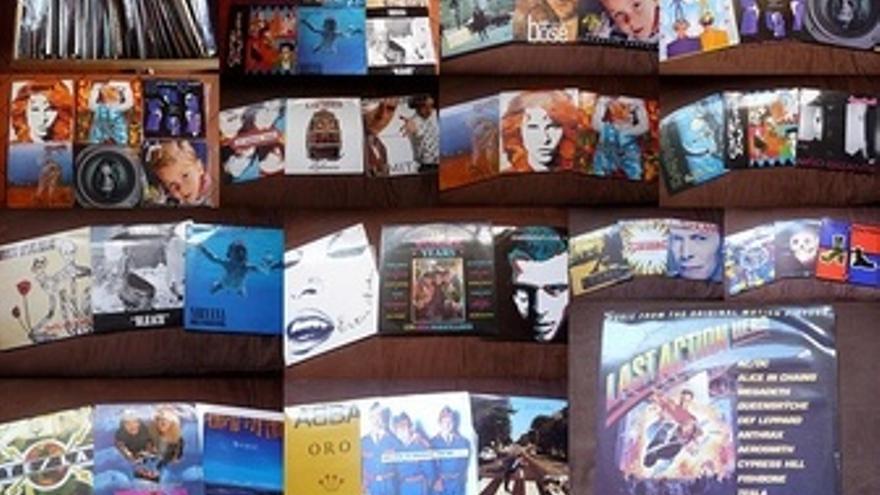Carátulas De Discos De Música
