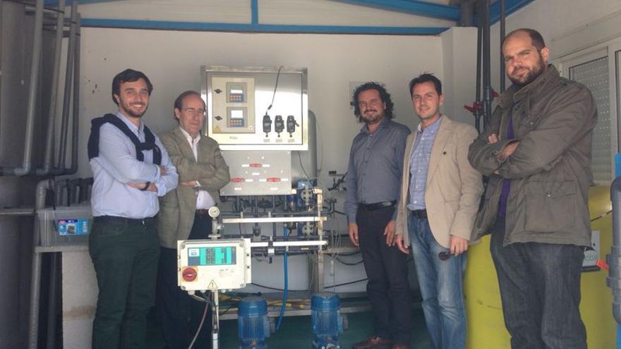 Miembros de Medina Global en infraestructura hidráulica / Ayuntamiento