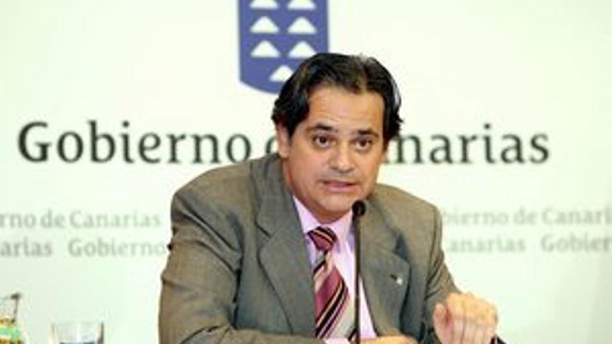 Jorge Rodríguez, consejero de Economía y Hacienda.