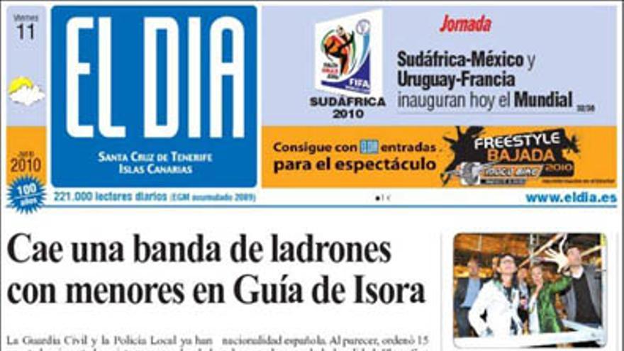 De las portadas del día (11/06/2010) #3