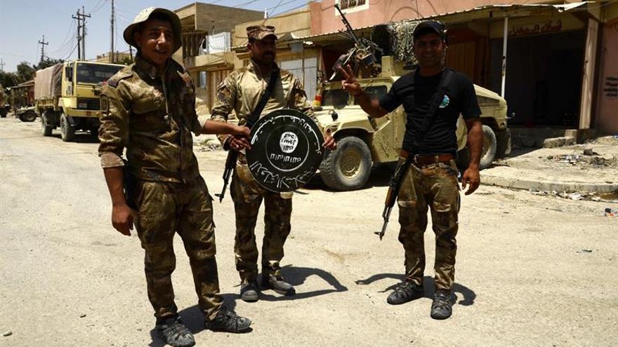 Las fuerzas iraquíes avanzan contra el EI en el casco antiguo de Mosul