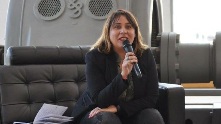La directora general del Instituto de la Juventud, Ruth Carrasco.