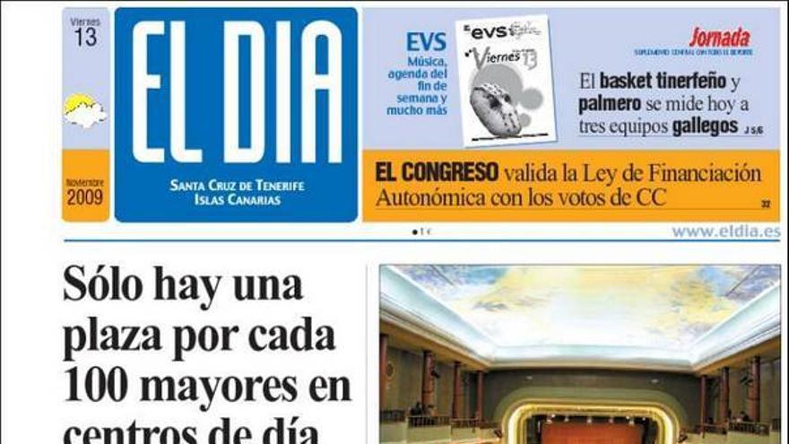 De las portadas del día (13/11/09) #4