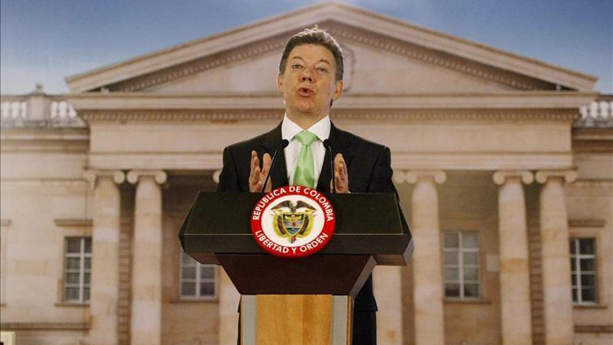 Santos dice que la liberación del general secuestrado será la próxima semana