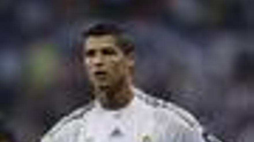 Jugador del Real Madrid Cristiano Ronaldo