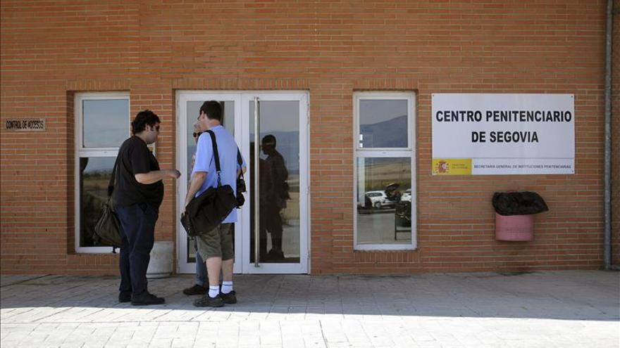 Matas pasa su condena en la enfermería del Centro Penitenciario de Segovia