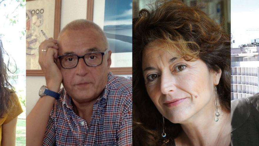 Raquel Vázquez, José Vicente Pascual, Teresa Broseta i Jordi Julià.