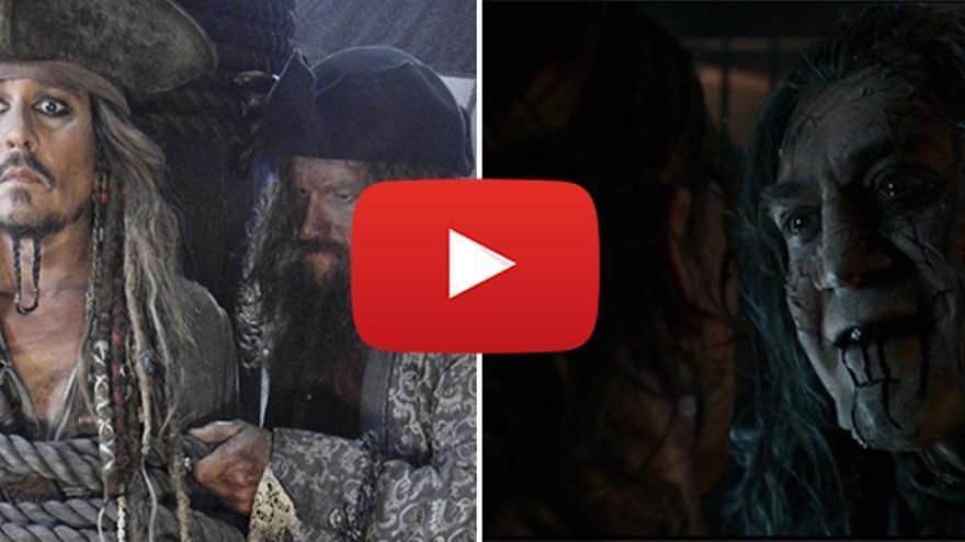 Javier Bardem, en el primer teaser tráiler de 'Piratas del Caribe 5'