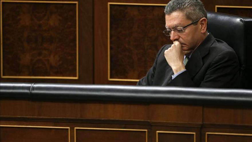 Gallardón niega criterios dispares entre las fiscalías sobre los bebés robados