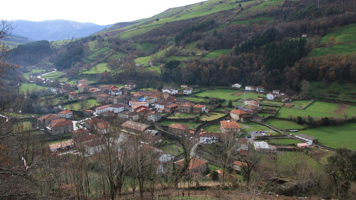 Lanestosa, en el extremo occidental de la comarca de Las Encartaciones.