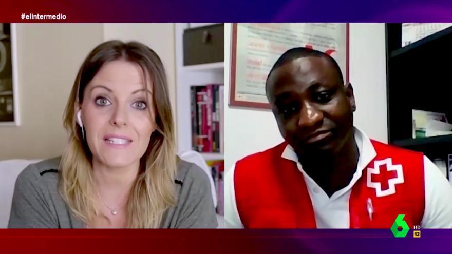 Andrea Ropero entrevistó a Félix Sesay, refugiado del Aquarius