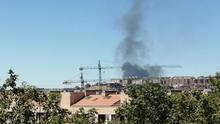 El 1-1-2 recibe 65 llamadas relacionadas con un incendio en la planta de reciclaje de Villanubla (Valladolid)