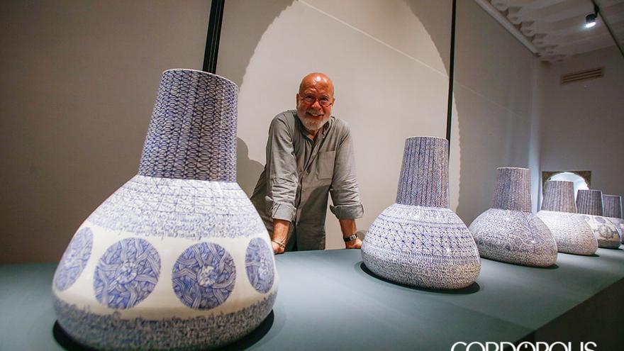 Rachid Koraïchi ante su obra en Casa Árabe Córdoba | MADERO CUBERO