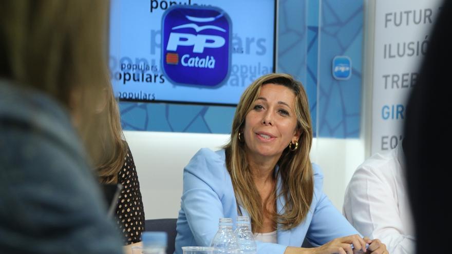 """Sánchez Camacho cree que Espinar """"a lo mejor es mucho más capaz"""" para la actividad inmobiliaria que para la política"""