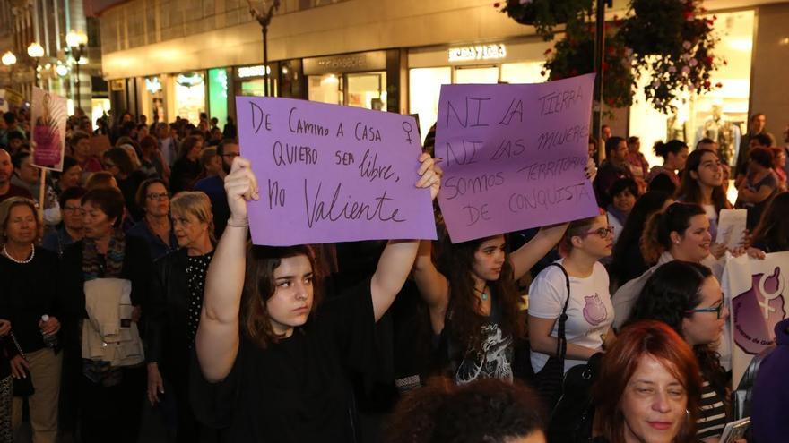 Manifestación por la igualdad en Las Palmas de Gran Canaria.(ALEJANDRO RAMOS)