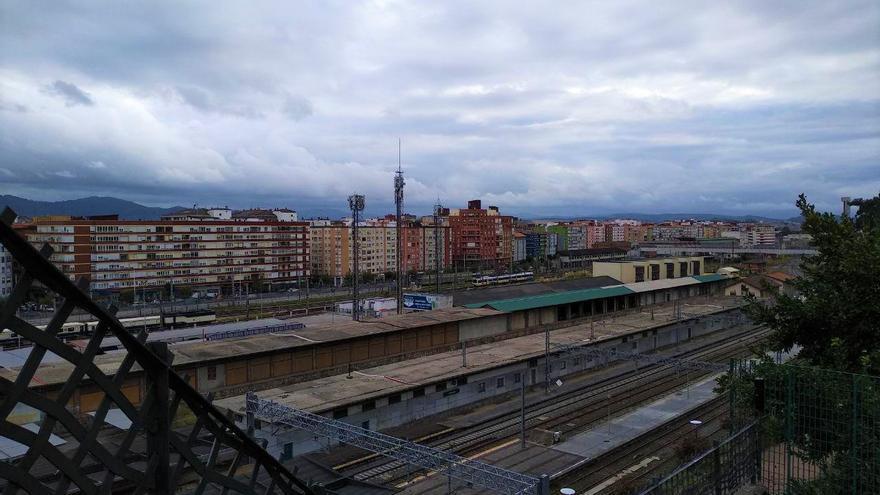 El espacio ferroviario de Santander sobre el que actuar y ordenar tiene una extensión de 300.000 metros cuadrados.
