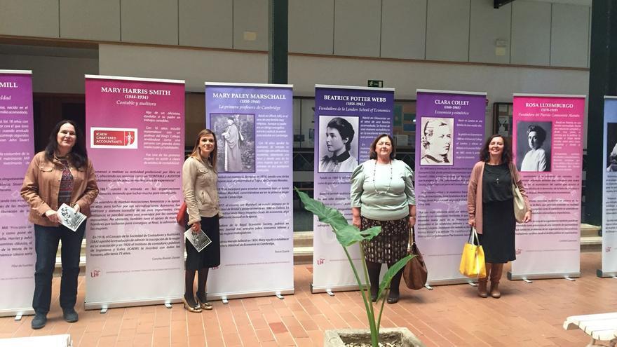 Exposición sobre las mujeres economistas