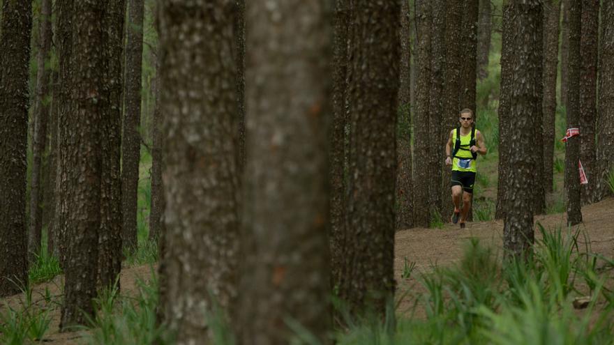 El noruego Didrik Hermansen, segundo clasificado de la prueba de 125 kilómetros (The North Face® Transgrancanaria®).