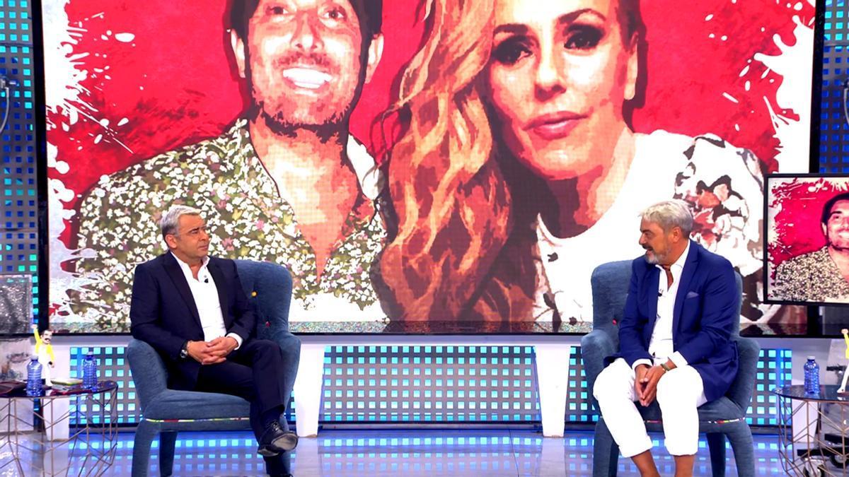 Jorge Javier Vázquez entrevista en 'Sábado Deluxe' a Antonio Canales