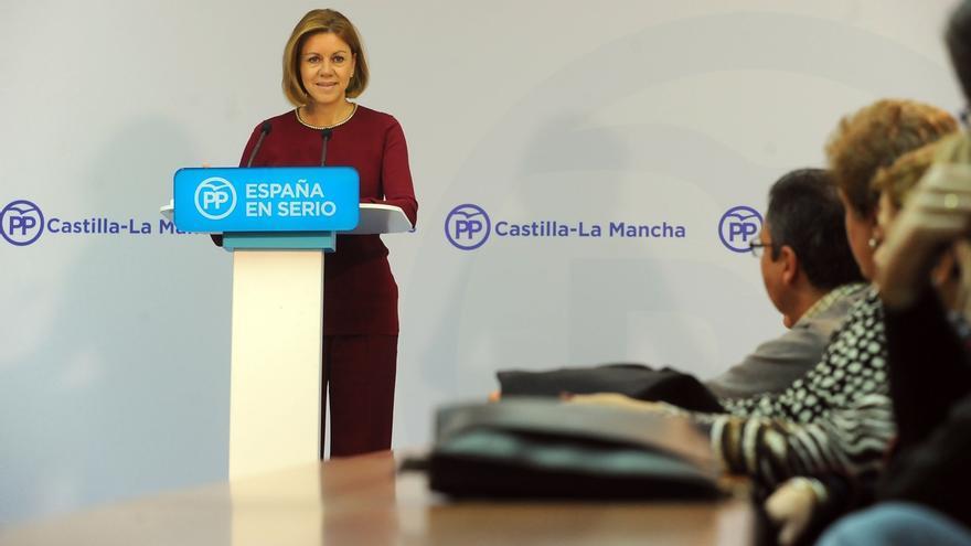 """Cospedal se pregunta en qué se transformará España si se """"desprecia"""" la """"sabiduría que da la experiencia"""""""