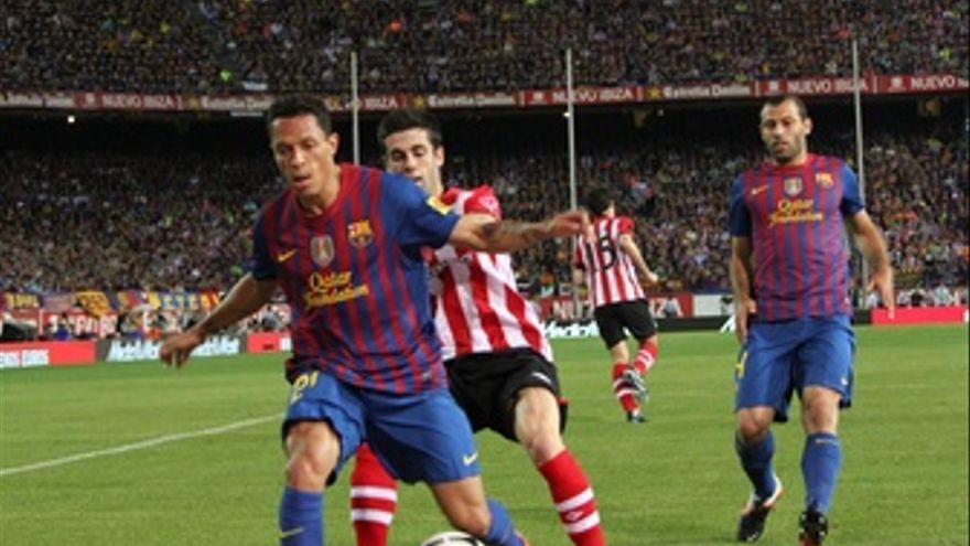 Adriano Susaeta Mascherano Athletic Club Bilbao Barcelona