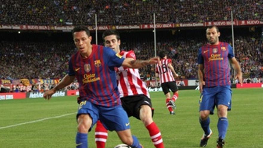Adriano Susaeta Mascherano Athletic Club Bilbao Barcelona