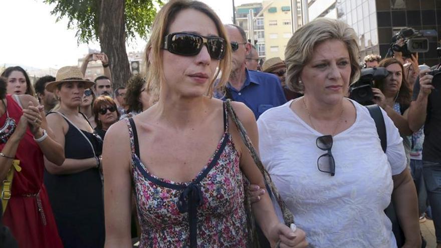 Juana Rivas, a la llegada al juzgado de Granada / EFE