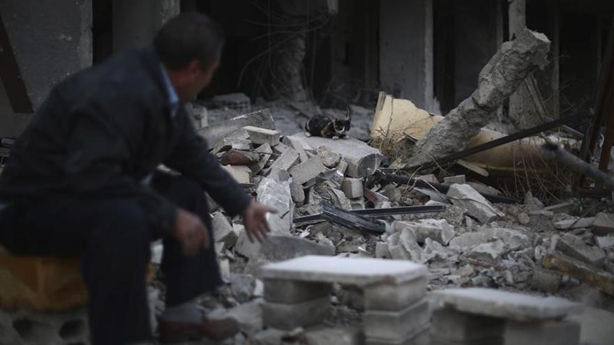Una facción islámica siria captura al piloto de un avión tras estrellarse