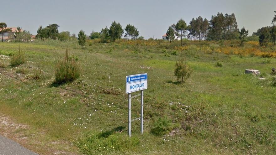Zona de Montalvo, en Sanxenxo, donde el Ayuntamiento aprobó la urbanización de los terrenos adquiridos con dinero del narcotráfico de Sito Miñanco