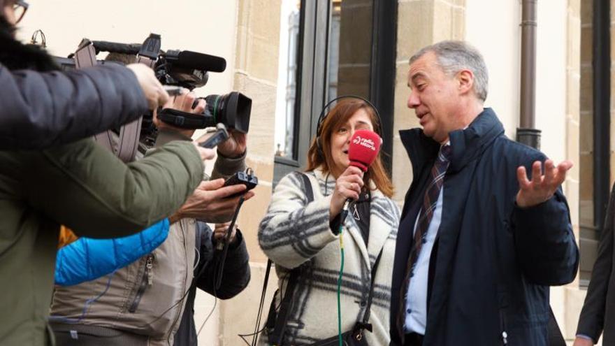 Urkullu asegura que todavía no ha decidido la fecha de las elecciones vascas