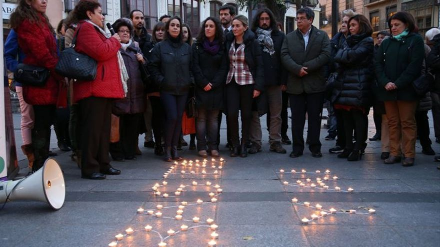 Concentración en Toledo contra la violencia de género
