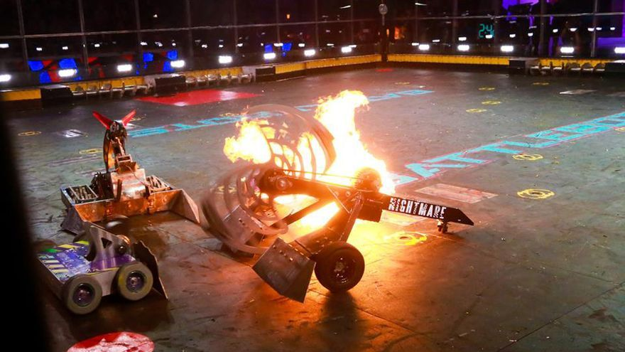 Los creadores de 'Battlebots' han inspirado a los jóvenes, que quieren crear sus propios robots violentos