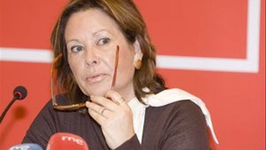 Paquita Luengo, diputada del Partido socialista. (CANARIAS AHORA)