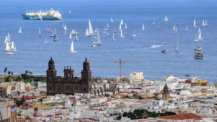 Así despidió Las Palmas de Gran Canaria a la ARC.