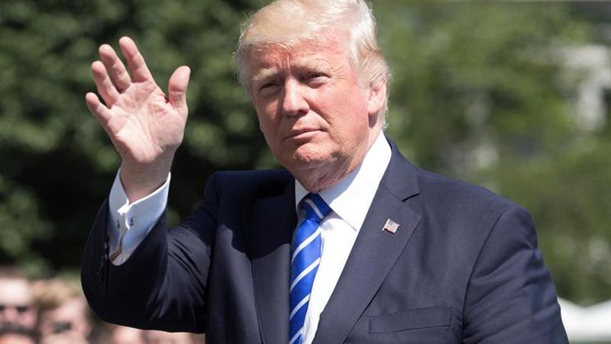 Trump confía en que la pesquisa del FBI pruebe la falta de nexos con Rusia