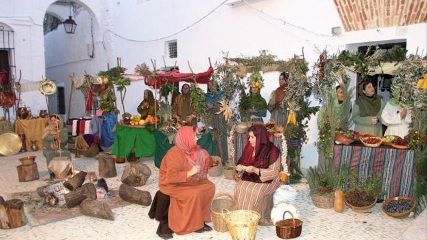 Belén viviente de Arcos, en Cádiz.