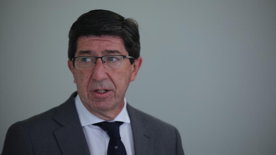 El vicepresidente de la Junta y líder de Cs en Andalucía, Juan Marín.
