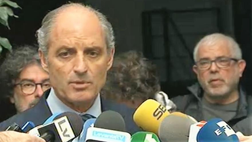 El expresident de la Generalitat Valenciana Francisco Camps