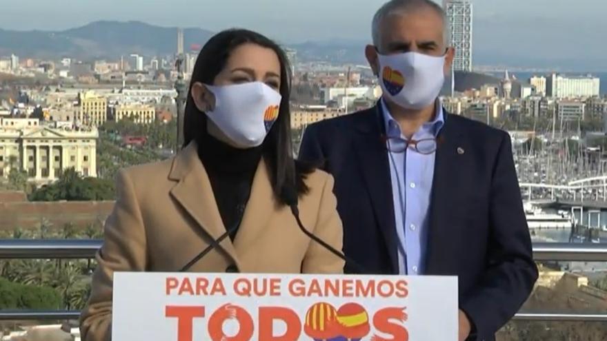 La líder de Cs, Inés Arrimadas