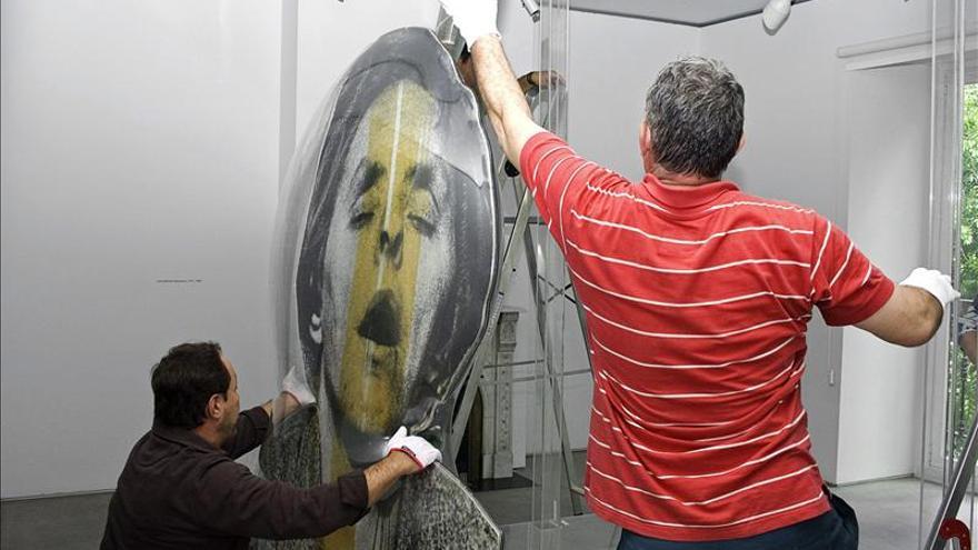 """Exposicion homenaje al dolor de Darío Villalba, el artista """"anti pop art"""""""