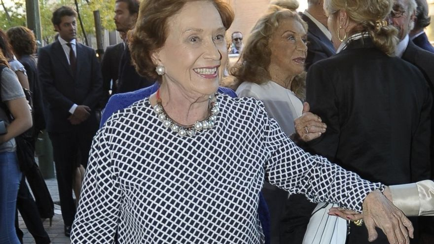 Fallece Carmen Franco, hija del dictador, a los 91 años de edad