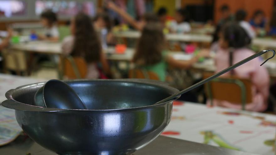Comedor de uno de los colegios donde trabaja Ayuda en Acción. Foto: Romina Peñate
