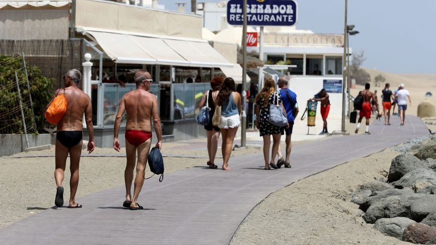 Vuelve el tiempo propio de agosto tras aflojar el calor excepto en Canarias