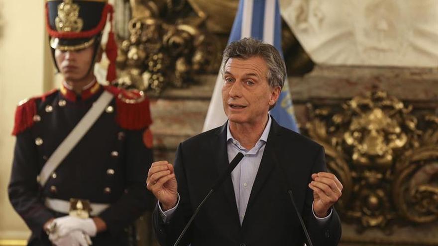 Macri declara un patrimonio valorado en 7,8 millones de dólares