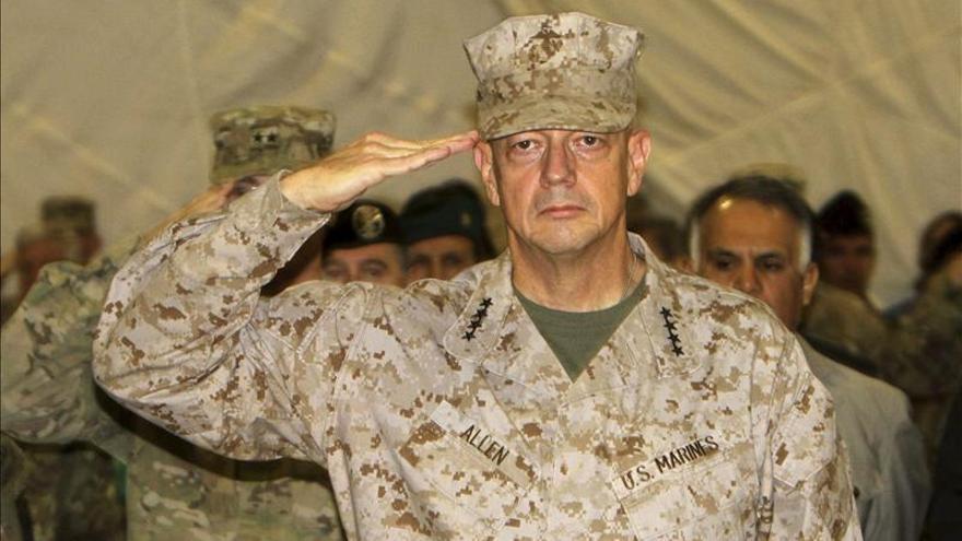 Obama reactiva la nominación del general Allen para comandante de la OTAN en Europa
