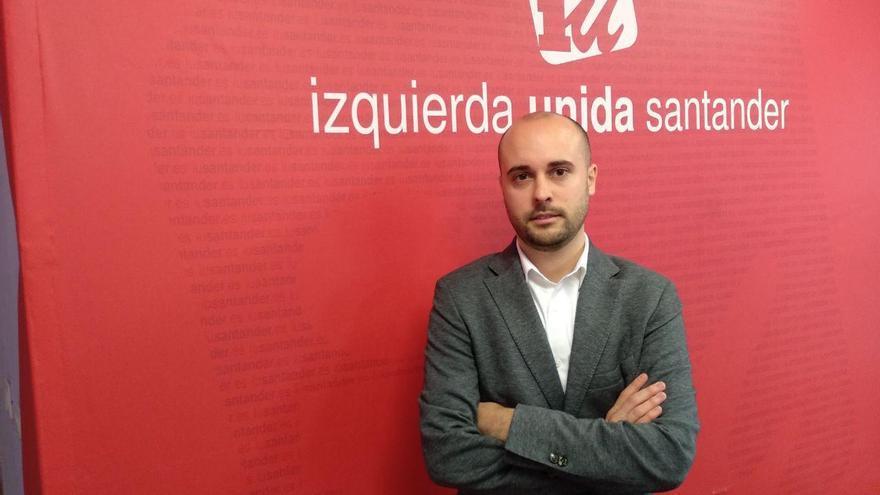 Israel Ruiz Salmón, candidato de Izquierda Unida en Cantabria.   L.G.