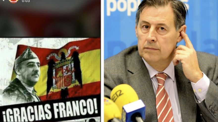 """El """"¡Gracias, Franco!"""" de un concejal del PP en el Ayuntamiento de Cuenca"""