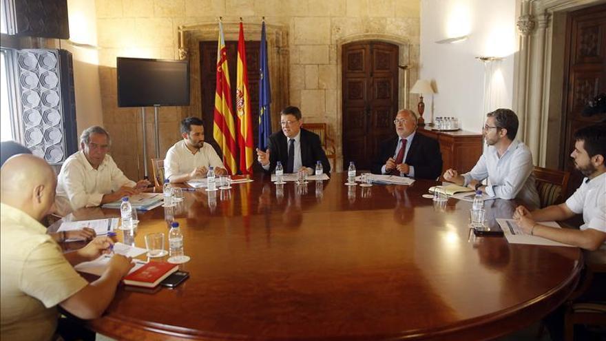 """Ximo Puig pide romper """"barrera"""" con Cataluña pero rechaza los Països Catalans"""